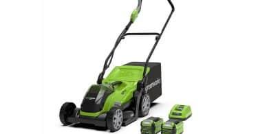 Avis tondeuse à batterie Greenworks G40LM35K2X